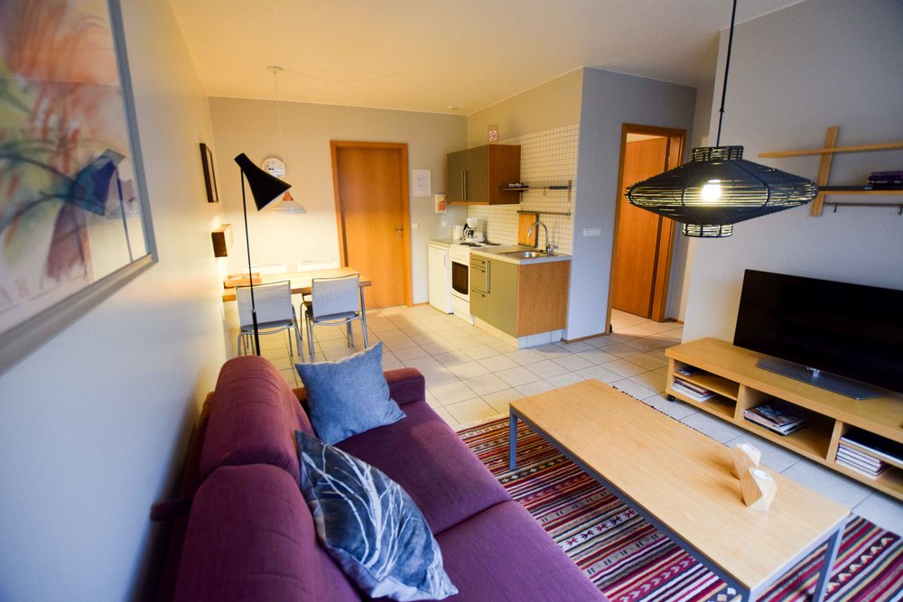 One of the best hotels in Iceland is Frumskógar Guesthouse.