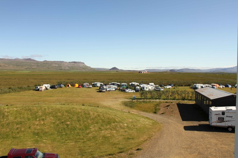 Best camp sites in Iceland.