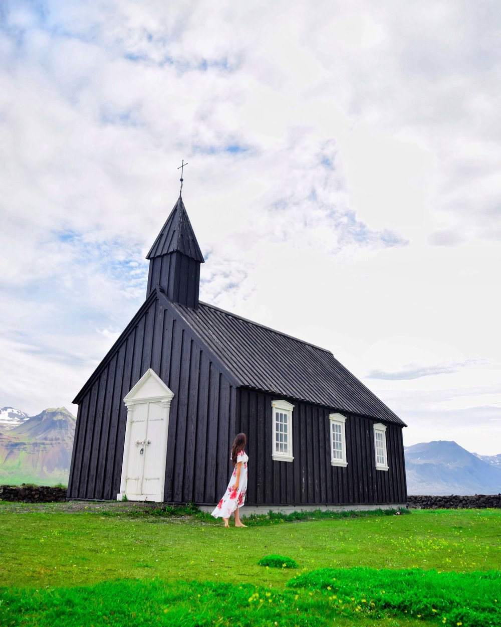 Some of the best sights in Iceland are the black churches