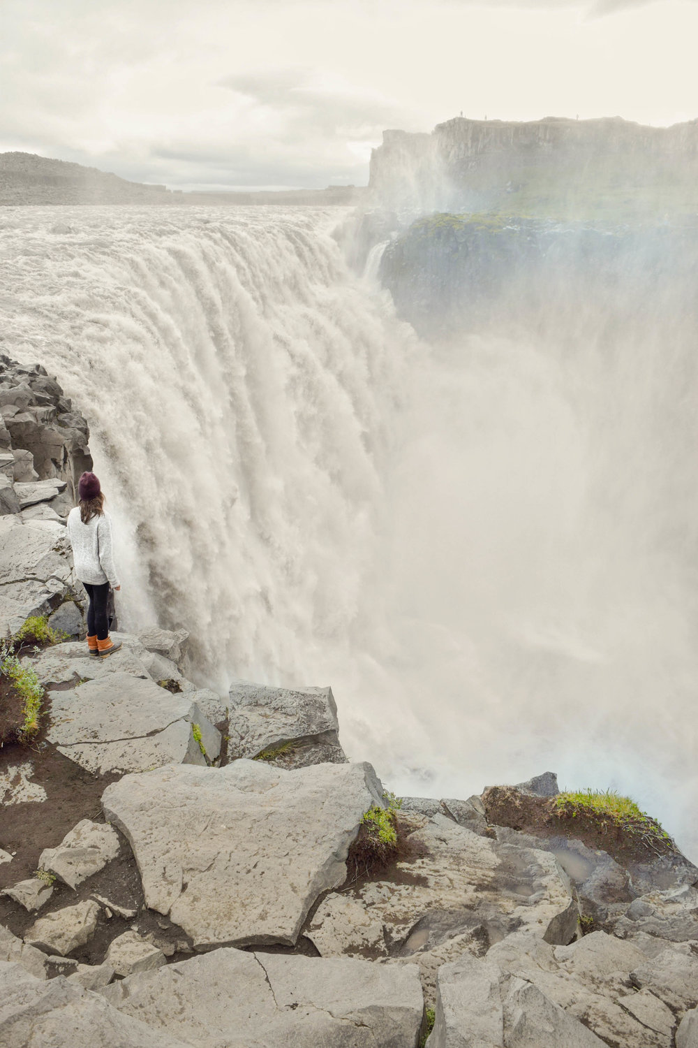 One of the best waterfalls in Iceland is Dettifoss