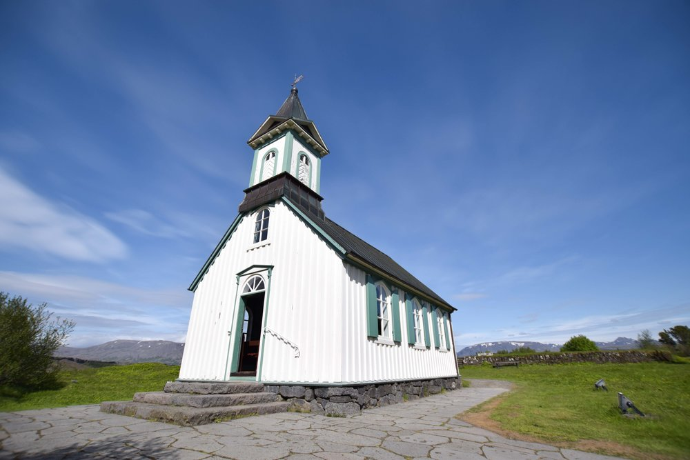 churches in Iceland are a must see