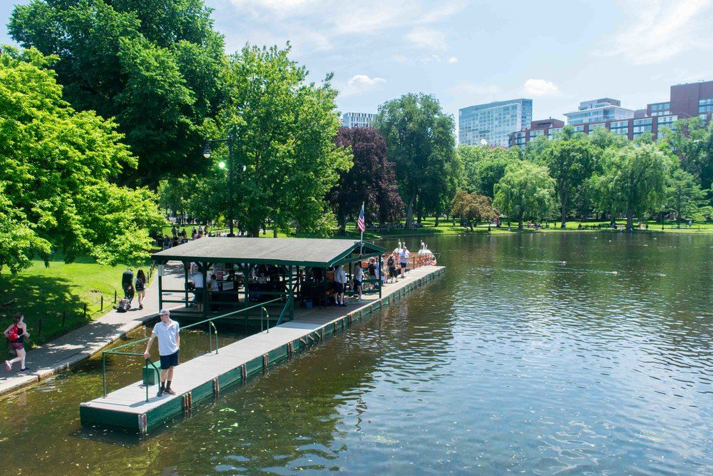 Established in 1634, Boston Common is America's oldest public park. -