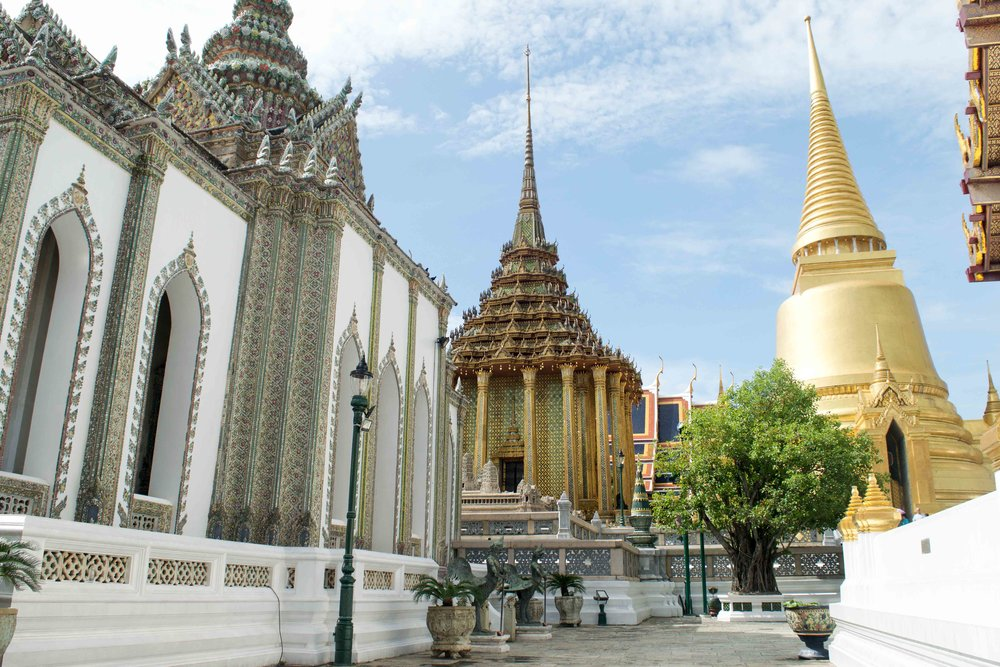 The Grand Palace is one of the best things to see in Bangkok Thailand