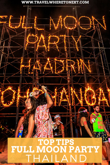 How to get to the full moon party, where the full moon party is held, top tips to survive a full moon party and so much more. Check out the full article!