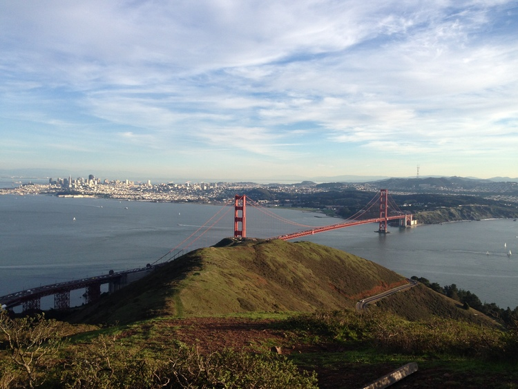 A great place to head for the holidays is San Francisco!