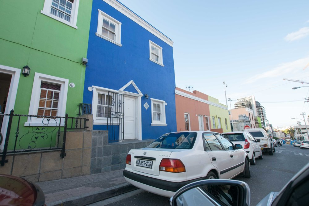 Walking the colorful streets of Bo-Kaap are one of the best things to do in Cape Town.