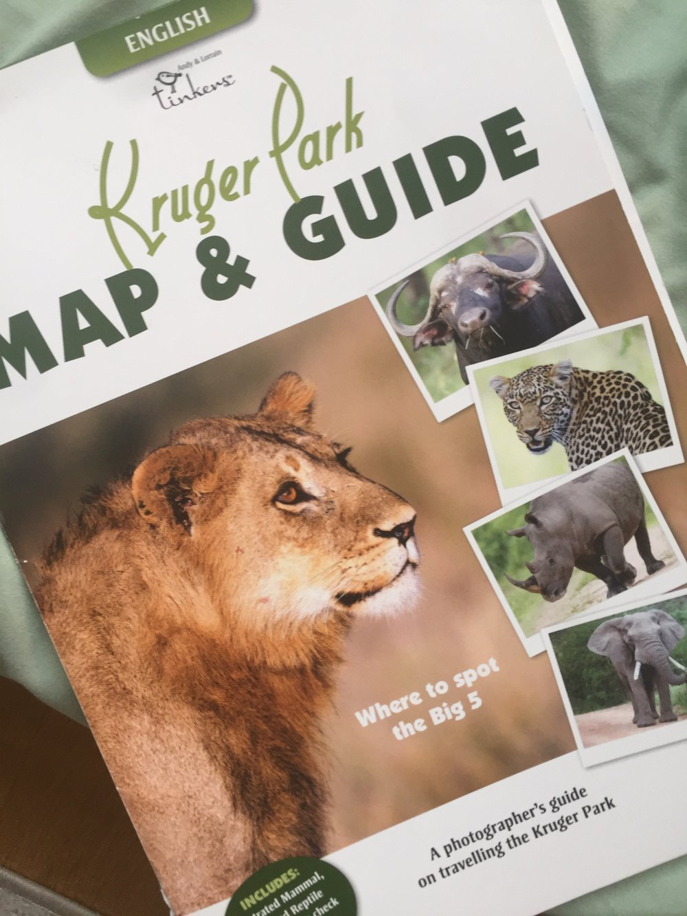 the best map for navigating Kruger