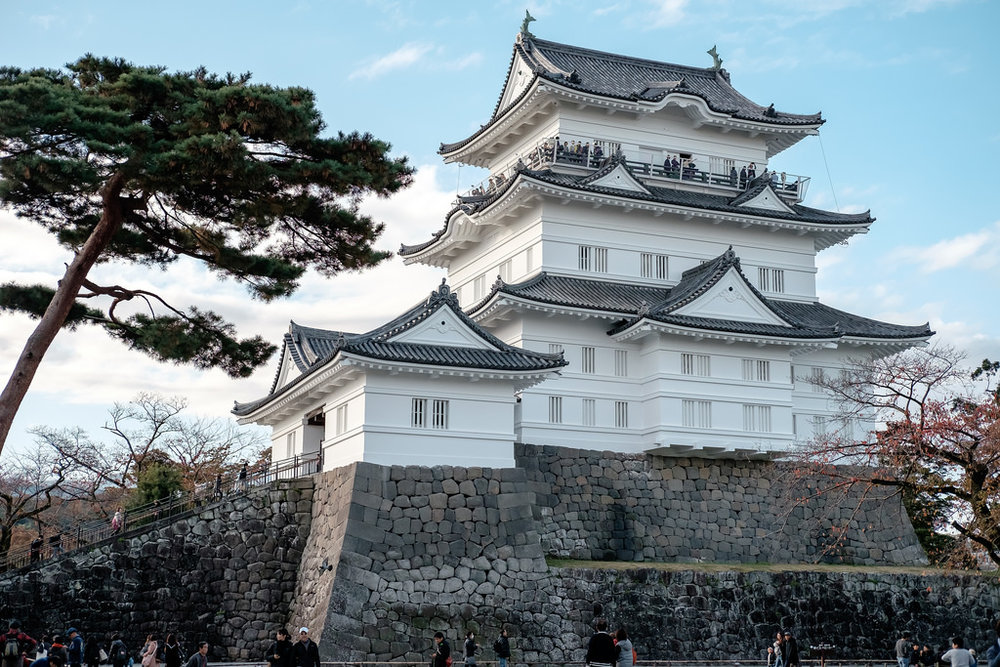 One of the best day trips from Tokyo is Odawara Castle