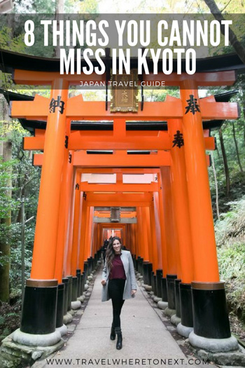 Heading to Kyoto? Here is everything you can't miss while you are there!