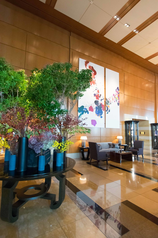 Lobby at The Ritz-Carlton Tokyo
