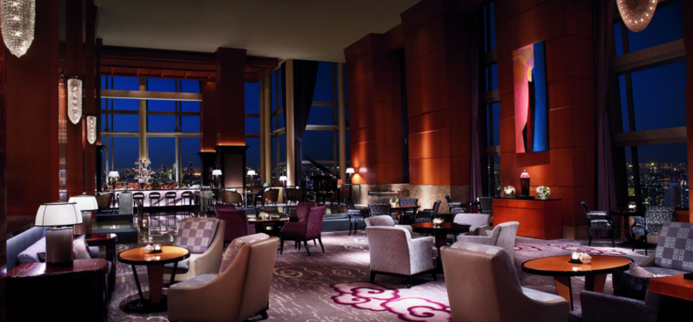 Main lobby lounge at The Ritz-Carlton Tokyo