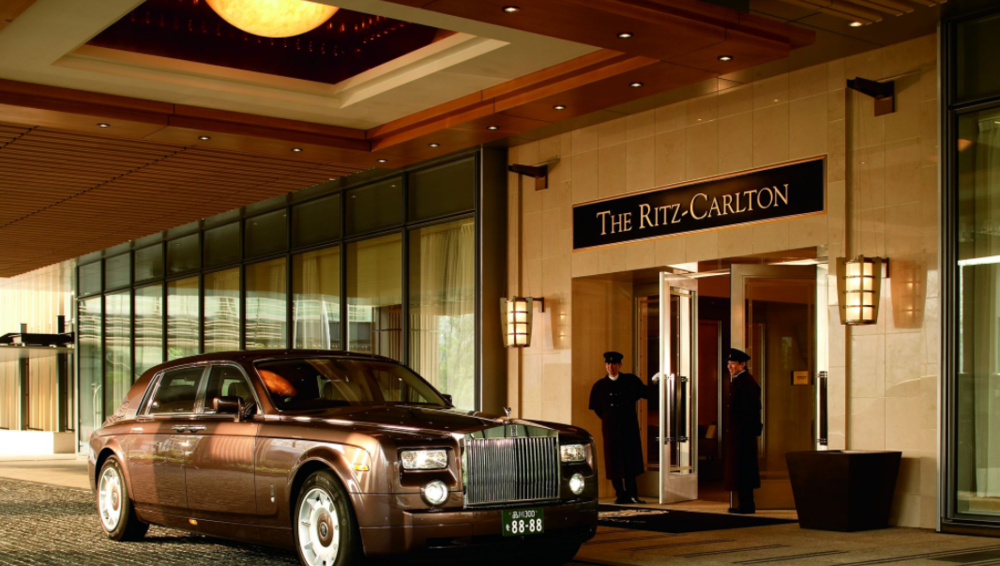 Entrance at The Ritz-Carlton Tokyo