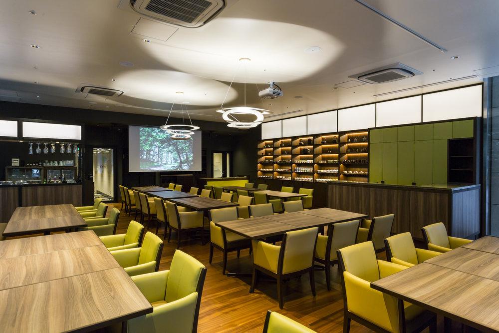 Restaurant inside Hotel Ryumeikan in Tokyo