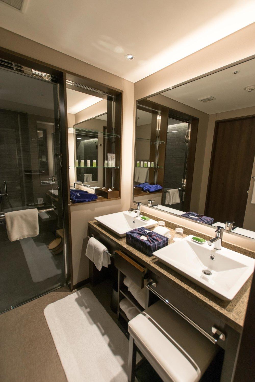 Bathroom at Hotel Ryumeikan in Tokyo