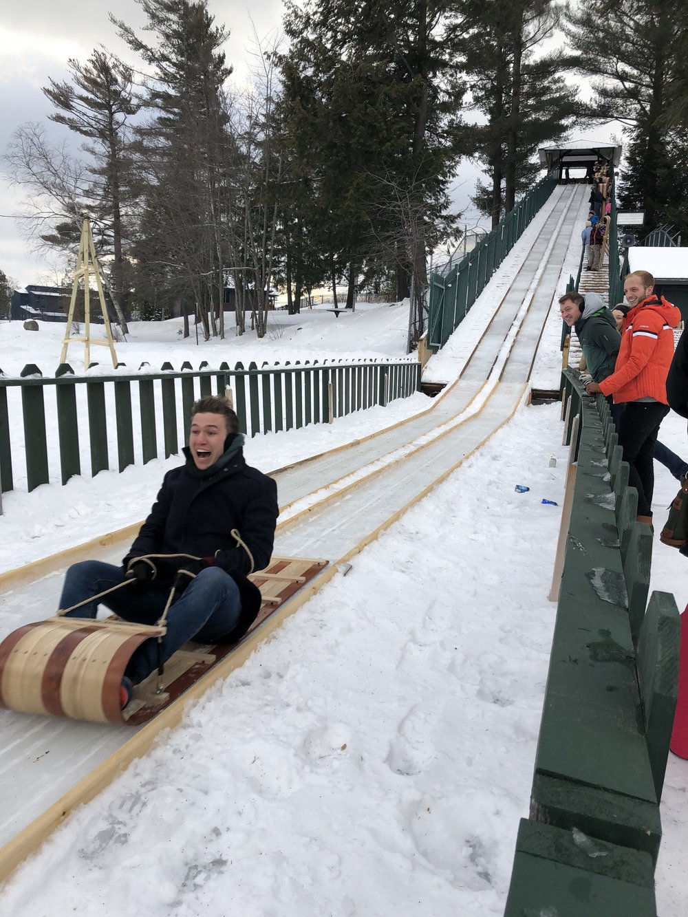 Ride the Toboggan Run