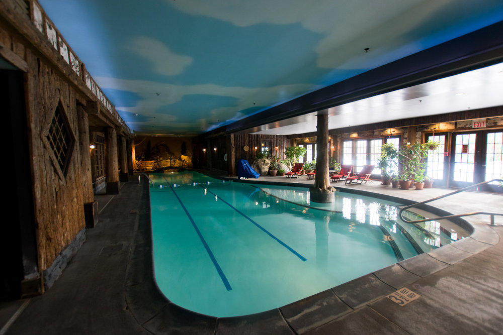 Relax at an Indoor Pool
