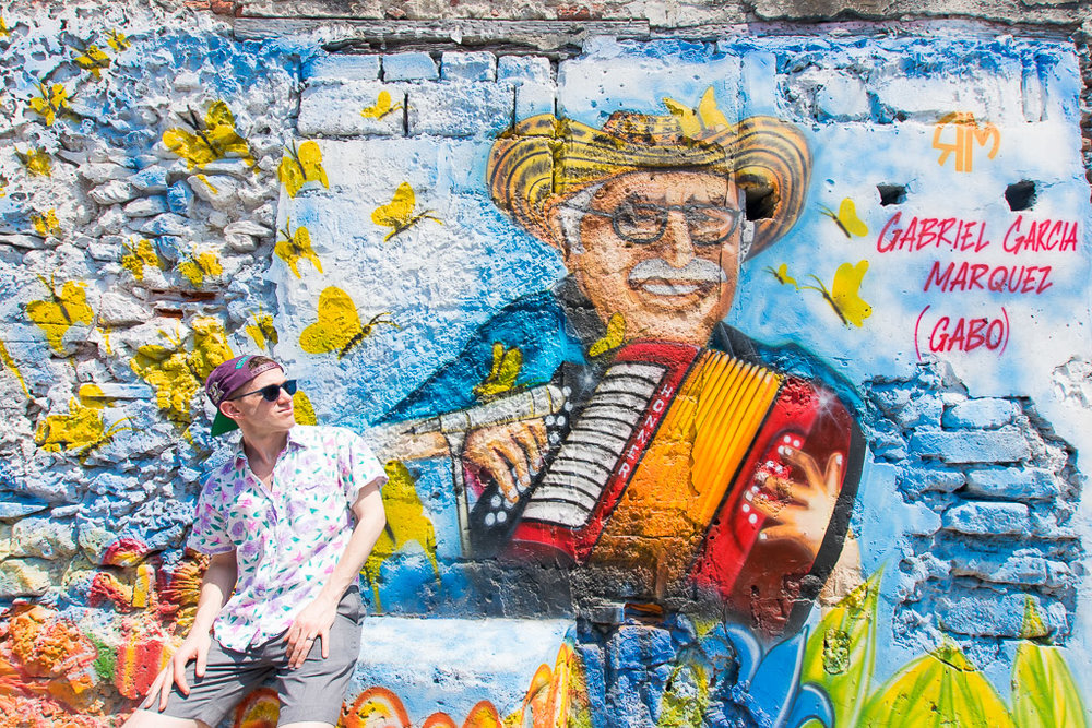 Visting Getsemani in Cartagena is one of the best things to do in Cartgena Colombia