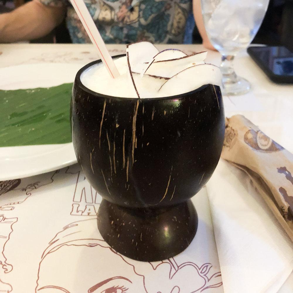 Lemonade at La Mulata