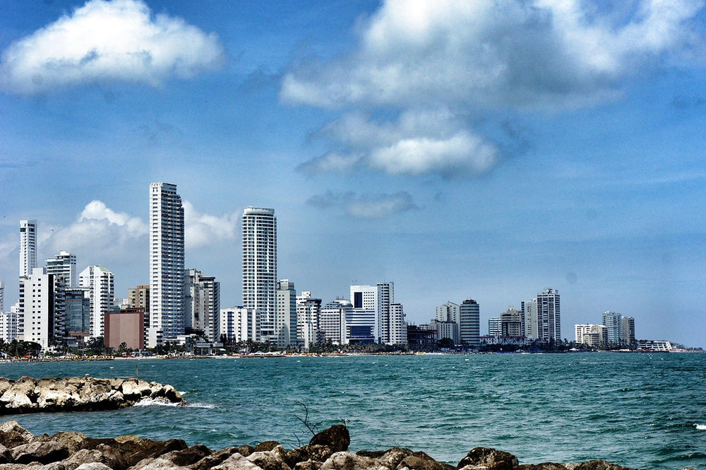 One of the best things to do in Cartagena is visit Bocagrande.