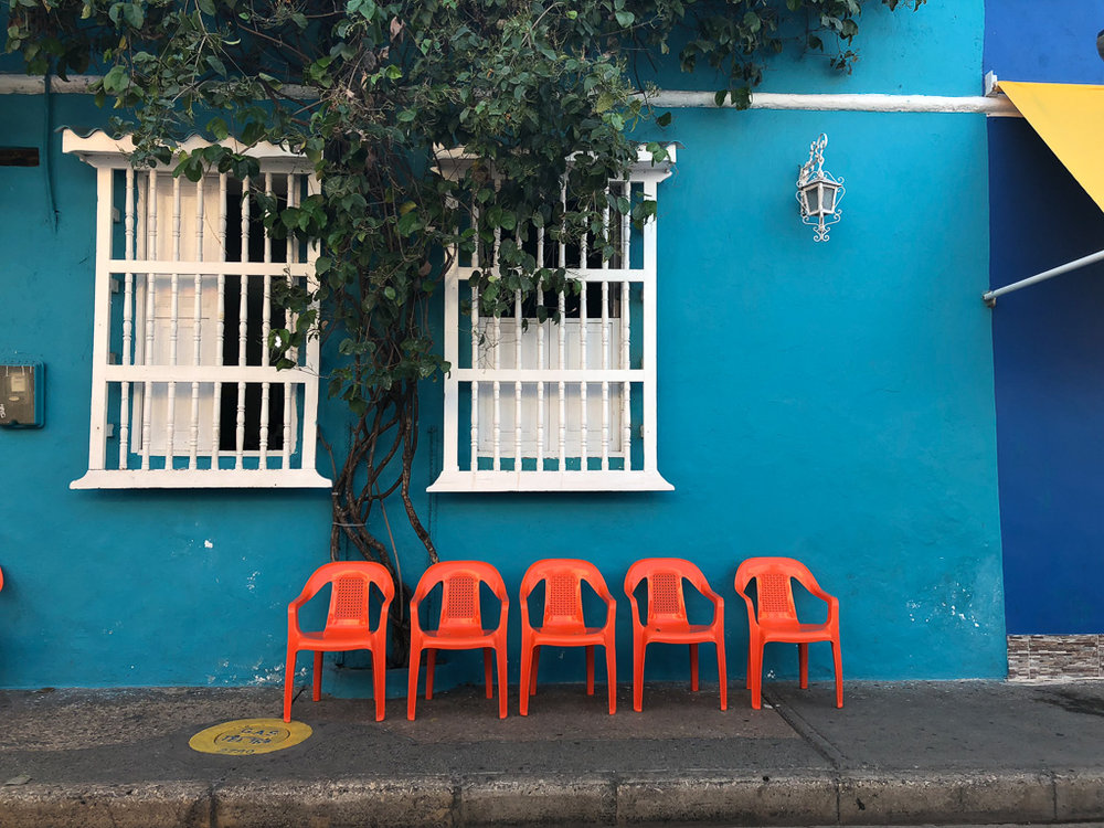 Getsemani Colombia is colorful and gorgeous