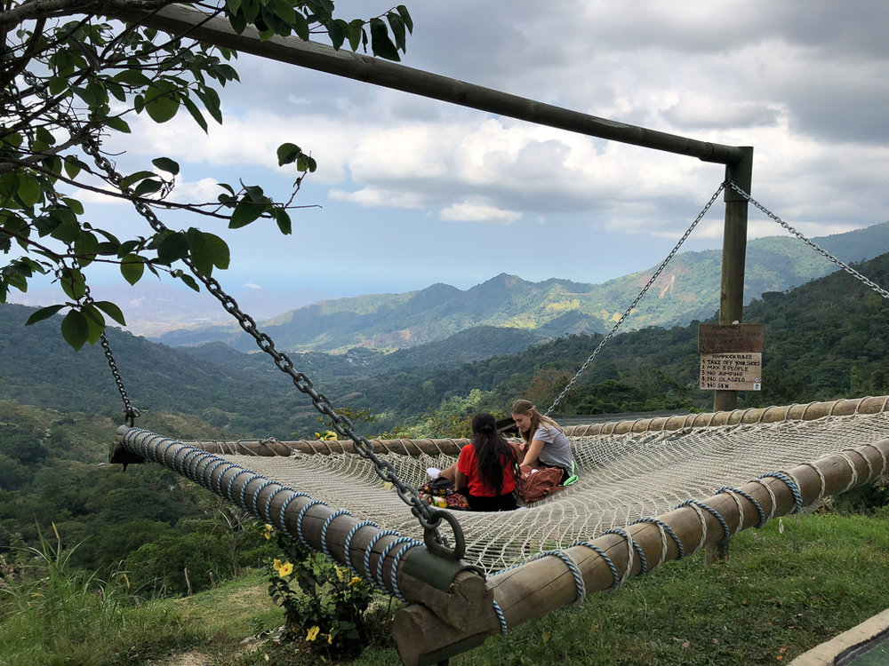 One of the best things to do while in Minca is visit the hammocks at Casa Elemento