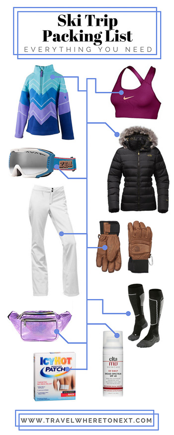 Everything you need to pack for your next ski trip.