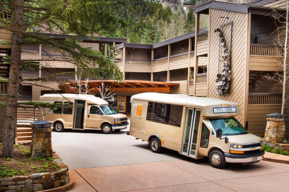 The Gant vans