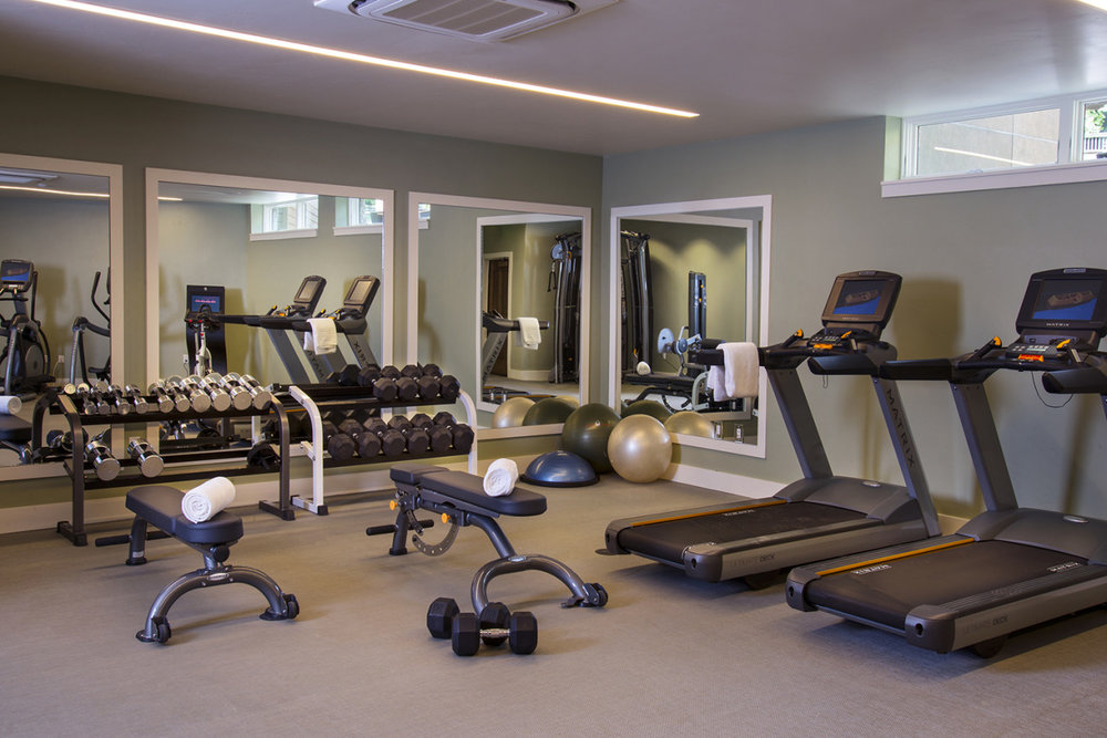 Gym at The Gant Aspen
