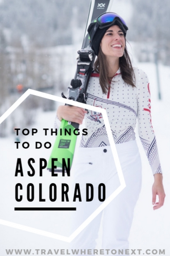 Heading to Aspen during the winter months? Here are the best things to do while you are there!