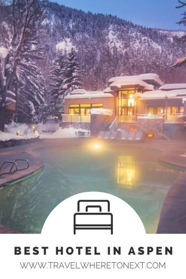 Want to stay at the best hotel in Aspen? Click on to find out all about it!