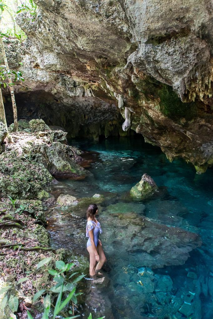Cenote in Tulum