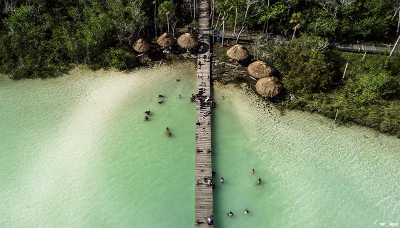 Kaan Luum Lagoon | Tulum, Mexico