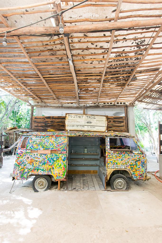 Beach Road Tulum