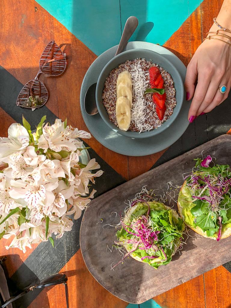 Food at Papaya Playa Project