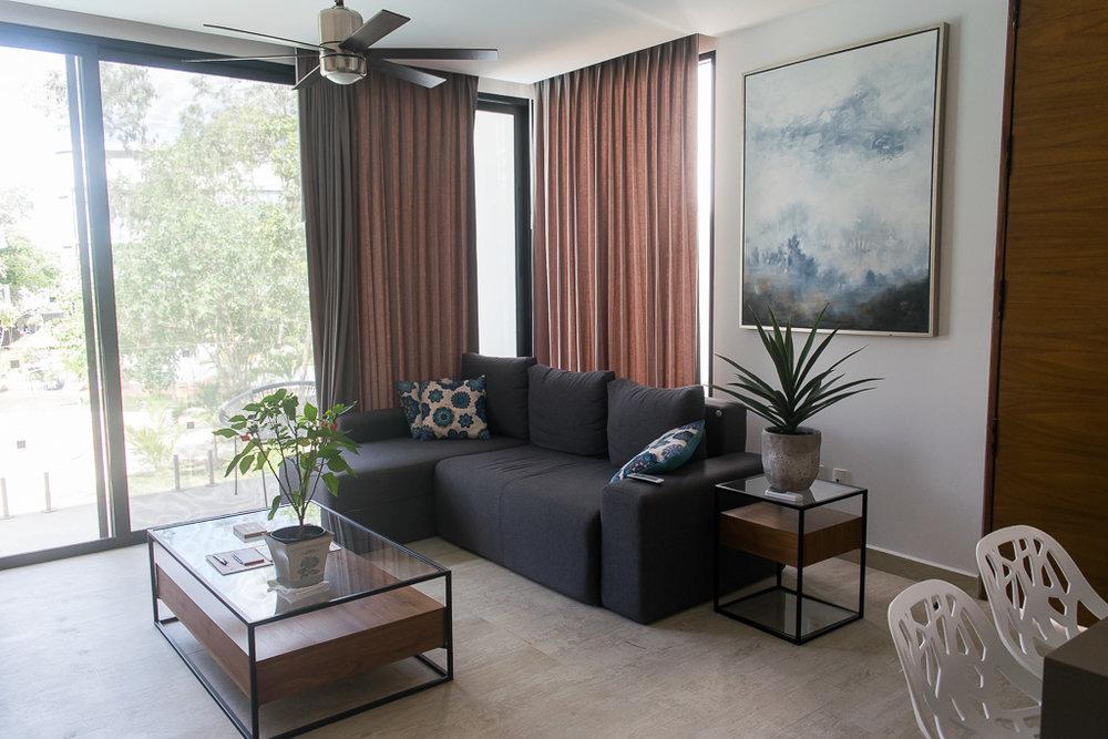 Living room Central Park Tulum
