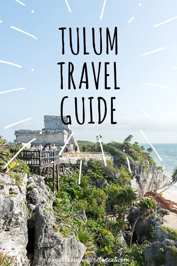 Heading to Mexico soon? Make sure you check out Tulum, one of the best cities and beaches in Mexico. It's a short drive from Cancun - read on to find out the best places to eat in Tulum, how to get to Tulum, and when the best time to visit Tulum is!