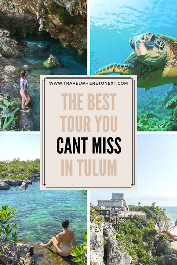 Check out Tulum Mexico for a perfect beach vacation! While you are there book a private tour of the natural wonders with Edventure Tours Tulum for an amazing day.