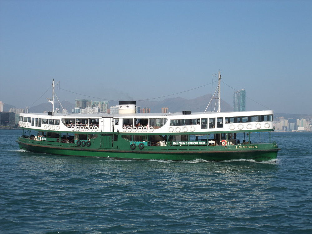 One of the best things to do in Hong Kong is ride the Stay Ferry