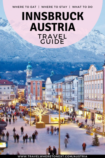 Thinking about heading to Austria? Add Innsbruck to you list! Read on to find out where to stay in Innsbruck, what the best things to do in Innsbruck, and where to eat in one of Austria's best cities.