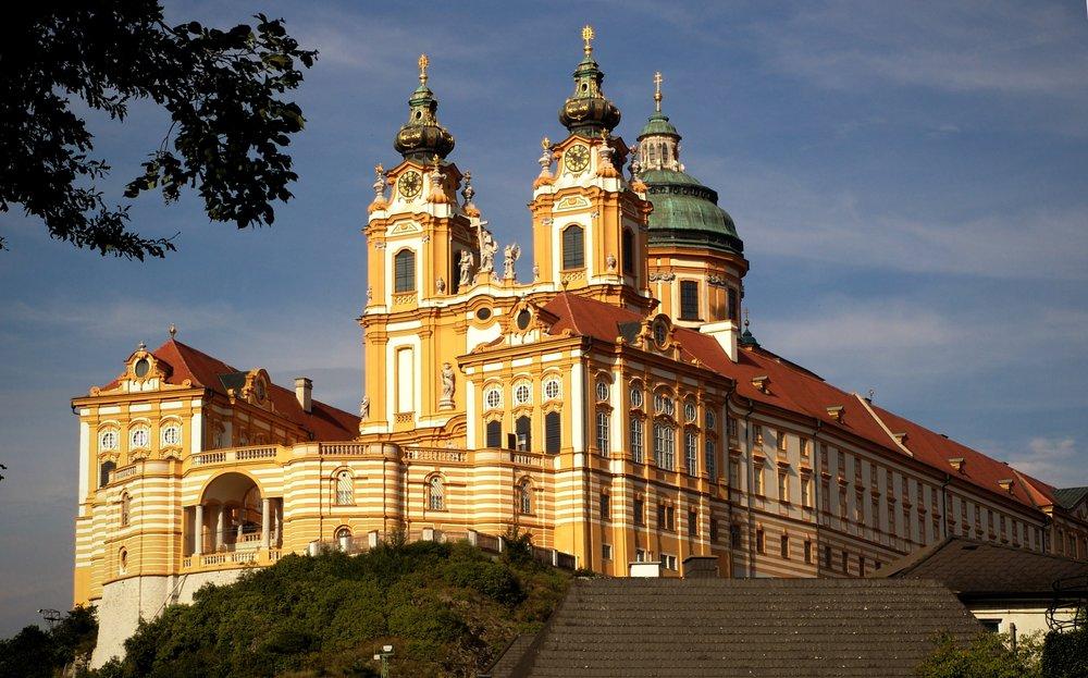 Melk Abbey near Vienna -