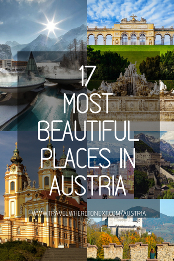 If you're planning a trip to Austria (or thinking about it) then you should take a look at these beautiful places around the country that you shouldn't miss while traveling through Austria.