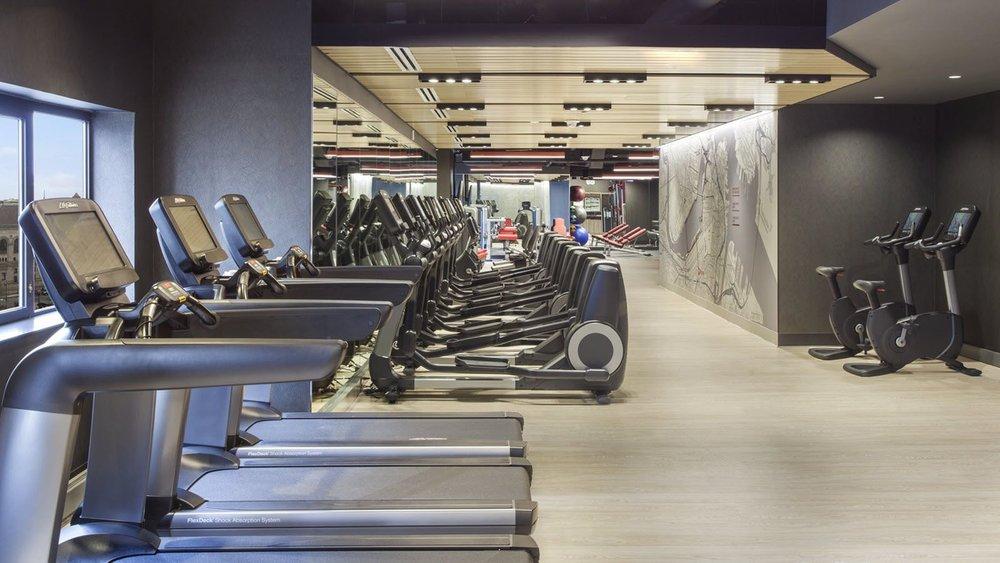 Gym at Westin