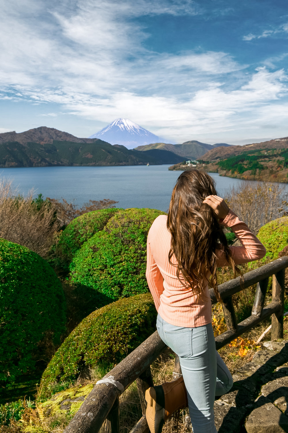 Visiting Mt Fuji is a must do while in Tokyo and is only a train ride away!