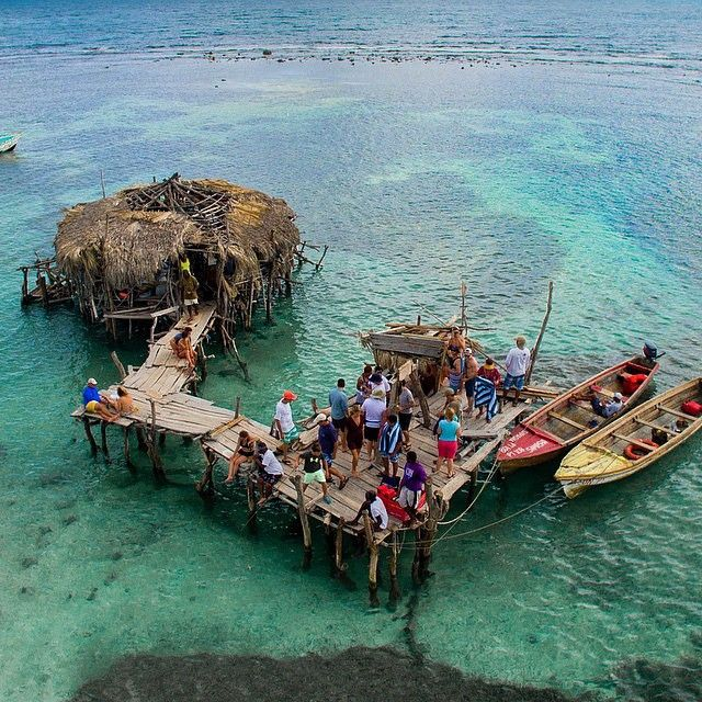 One of the best things to do outside of Montego Bay is visit Pelican Bar - the coolest bar in the world
