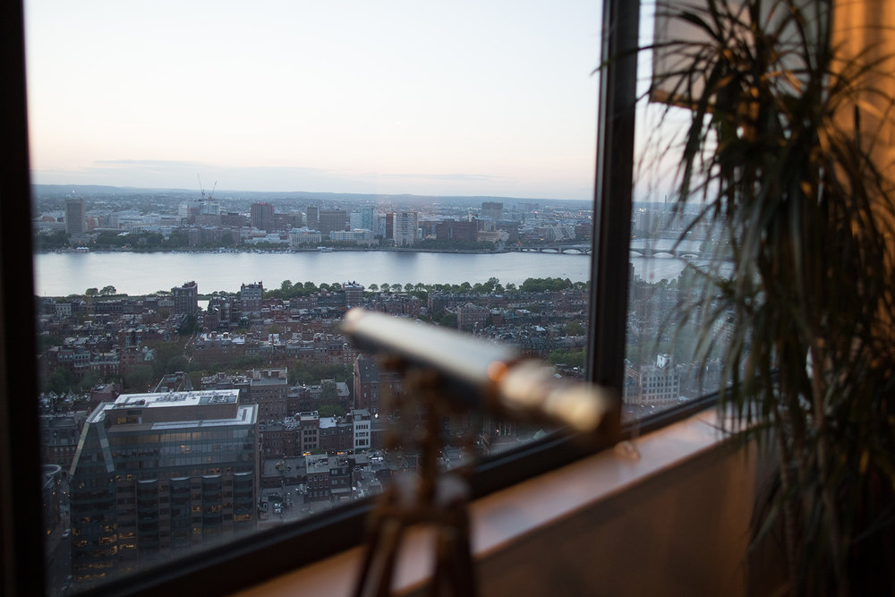 Views of the river from The Westin