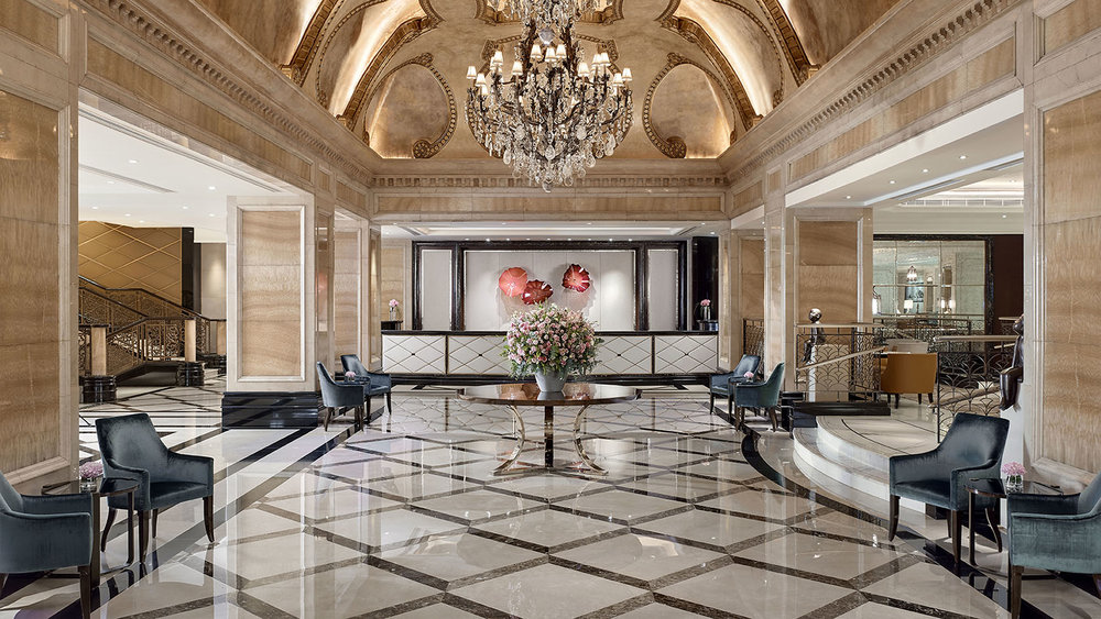 Lobby of Langham Hong Kong