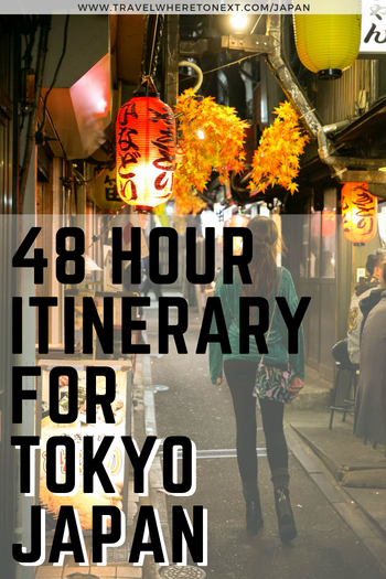 Even if you only have 48 hours you can see so much in Tokyo! Read on to find out how to make the most of your time in Japan.