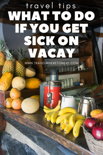 Learn what you can do if you get sick on vacation - travel tips and advice, even legal advice - someone may owe you money