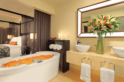 Bathroom at Secrets in Montego Bay