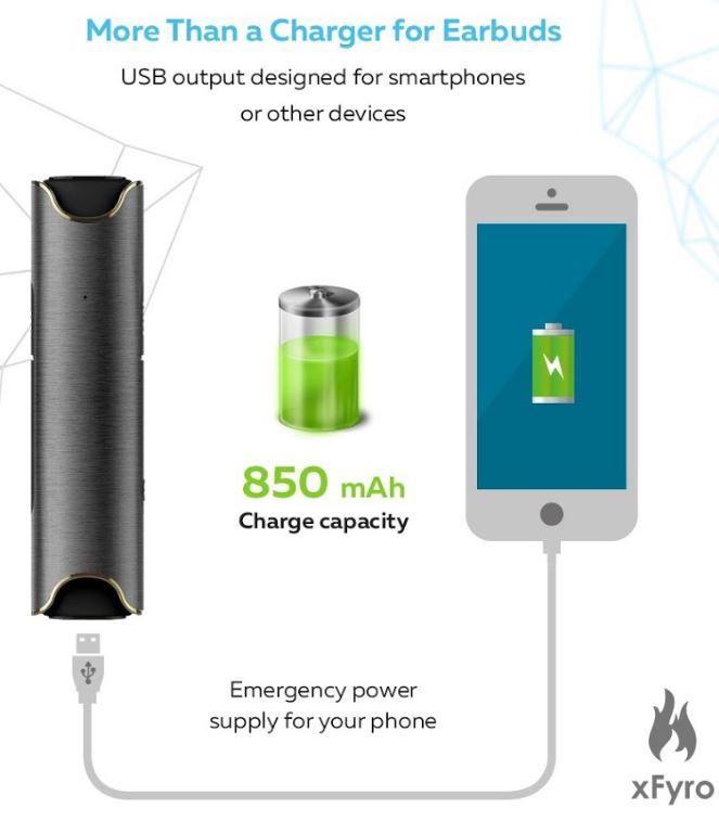 xFyro xS2 Charge Capabilities